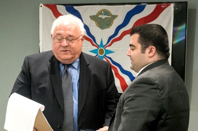 Chicago attorney on promoting law education among Assyrian students